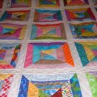 Pieced & Quilted by Marge Mackie D1.25